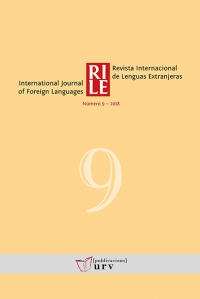 Revista Internacional de Lenguas Extranjeras, 9